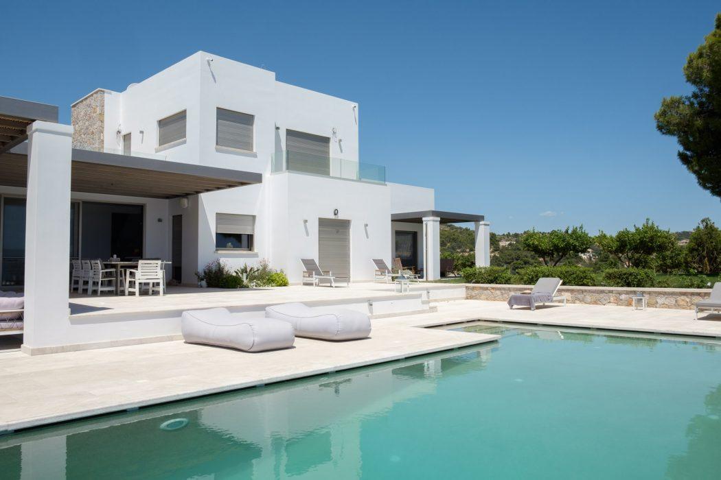 Villa Infinity στην Βερβερόντα, Πόρτο Χέλι