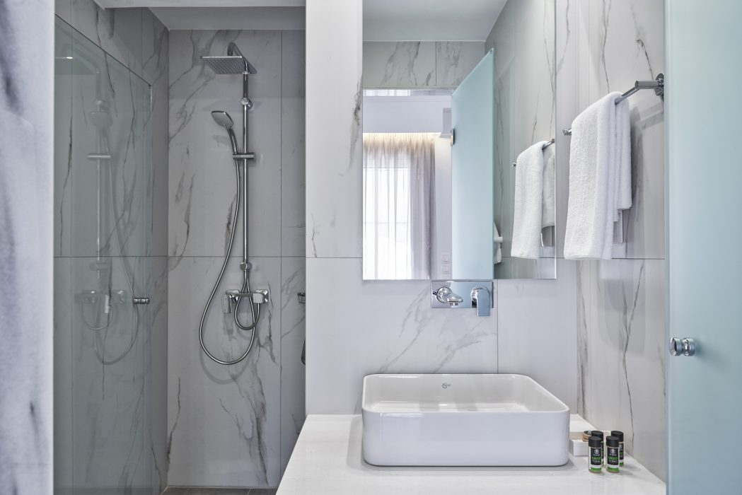 Nice wide showers