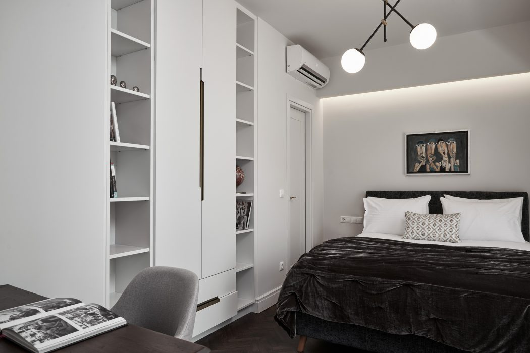 Bedroom 4, with double bed and working space