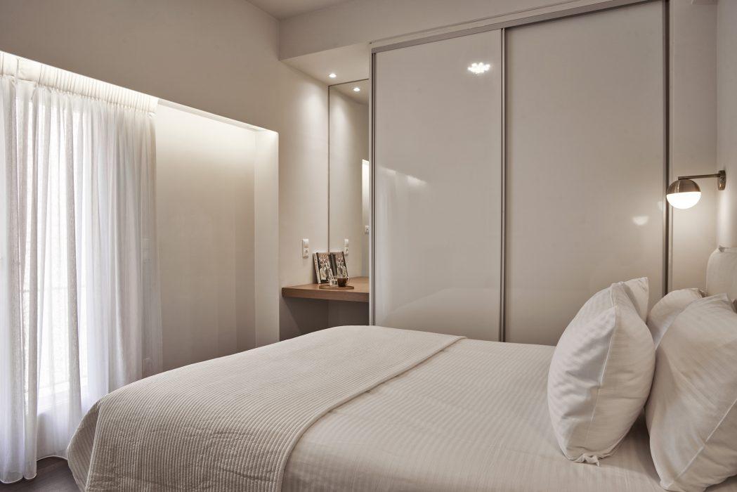 Bedroom 3, with double bed and en suite bathroom